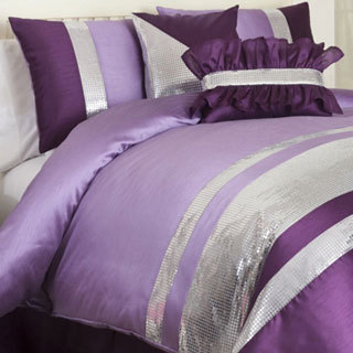 Lush Decor Purple Jewel 6-piece Comforter Set