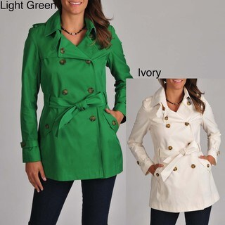 Tommy Hilfiger Women's Button-front Trench Coat
