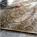nuLOOM Outdoor/ Indoor Brown Rug (9' x 12')
