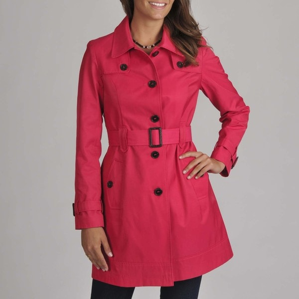Tommy Hilfiger Azalea Belted Trench Coat
