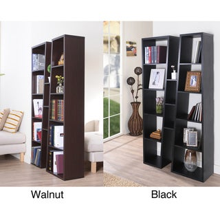 Black Ten-shelf Bookcase