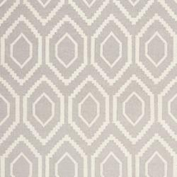 Safavieh Moroccan Reversible Dhurrie Grey/Ivory Indoor Wool Rug (9' x 12')