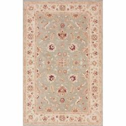 nuLOOM Handspun Decorative Persian Grey New Zealand Wool Rug (5' x 8')