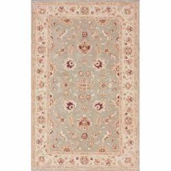 nuLOOM Handspun Decorative Persian Grey New Zealand Wool Rug (5' x 8')