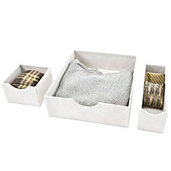 Organized Living Fabric Drawer Organizers Natural
