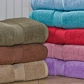 Calcot Supima-Cotton Zero-Twist Three-Piece Bath Towel Set