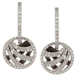 14k White Gold 7/8ct TDW White Diamond Earrings (I, I1)