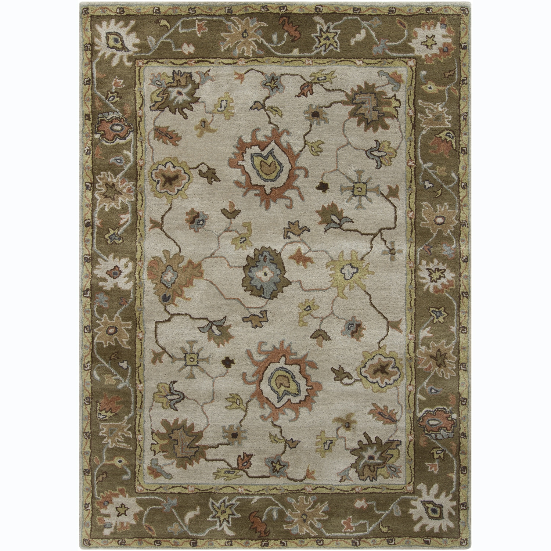 Hand-tufted Bajrang Oriental Wool Rug (9' X 13