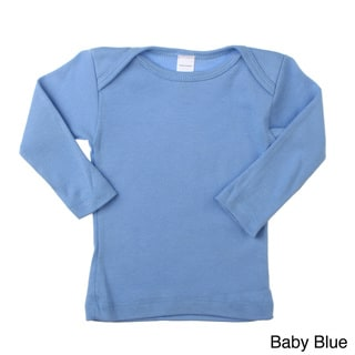 American Apparel Baby Rib Long Sleeve Lap T (0-3M)