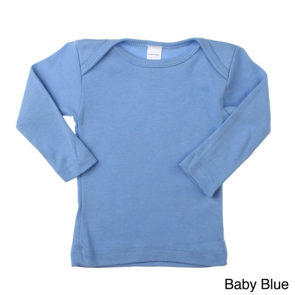 American Apparel Baby Rib Long Sleeve Lap T (0-3M)