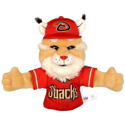 Arizona Diamondbacks 'Baxter Bobcat' Mascot Hand Puppet