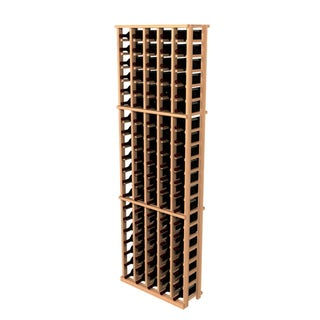 Traditional Redwood 5 Column Wine Rack