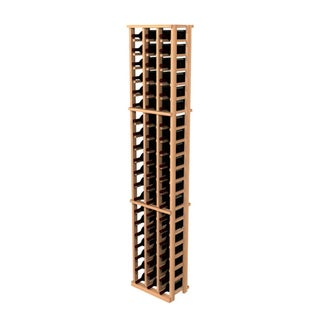 Traditional Redwood 3-Column Wine Rack