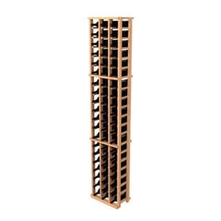 Traditional Redwood 3-Column Wine Rack