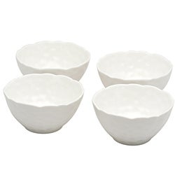 Red Vanilla Marble Rice Bowls (Set of 8)