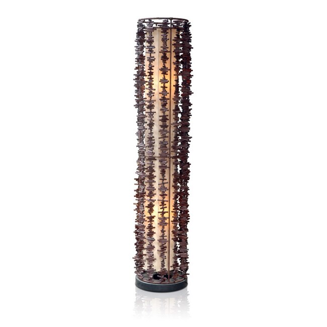Decorative Brown Transitional Meridian Table Lamp