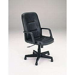 Genuine Leather Executive Chair With Pneumatic Lift