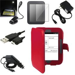 Case/ Screen Protector/ LED/ Chargers/ Cable for Barnes & Noble Nook 2