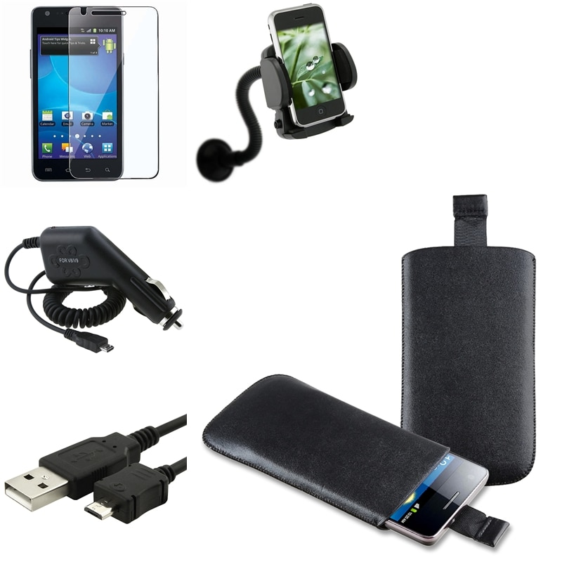 Pouch/ Charger/ Holder/ Cable for Samsung Galaxy S II AT&T i777