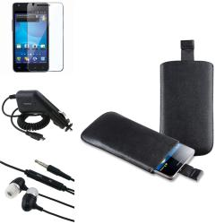 Pouch/ Protector/ Charger/ Headset for Samsung Galaxy S II AT&T i777