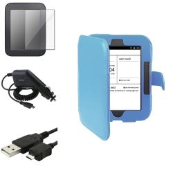 Case/ Screen Protector/ Car Charger/ Cable for Barnes & Noble Nook 2