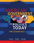American Government and Politics Today: The Essentials 2013 - 2014 Edition (Paperback)