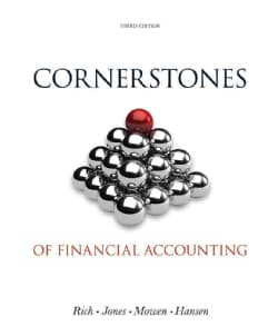 Cornerstones of Financial Accounting + Annual Reports 2011