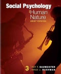 Social Psychology and Human Nature (Paperback)