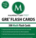 GRE Flash Cards: 500 Math Flash Cards, For the Revised GRE (Cards)