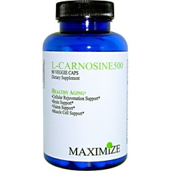 Maximum International 500mg L-Carnosine500 (90 Veggie Capsules)