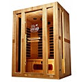 Lifesmart Infracolor Ultimate 3 Person Sauna with Combo Heat Therapy Full Chromo Therapy and Sound System