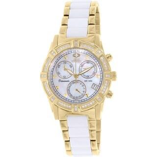 Swiss Precimax Women's Desire Elite Ceramic Diamond Watch