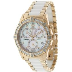 Swiss Precimax Women's SP12078 Ceramic Diamond Two-Tone Watch