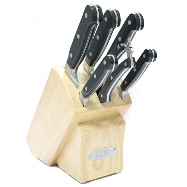 Tsu Cutlery Stainless Steel Seven-piece Kitchen Knife Set