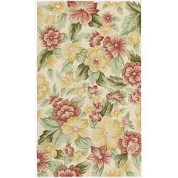 Nourison Casual Hand-Hooked Fantasy Ivory Rug (1'9
