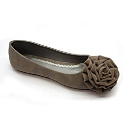 Blue Women's 'Pagonia' Grey Flats