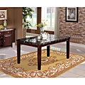 Radians Black Marble Top Dining Table