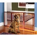 Solid Wood Expandable Pet Gate