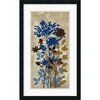 Silvia Vassileva 'Spring Bouquet II Tan' Framed Art Print