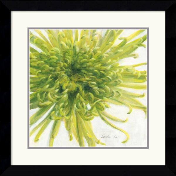 Danhui Nai 'Contemporary Chrysanthemum' Framed Art Print