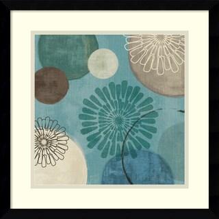Veronique Charron 'Flora Mood II' Framed Art Print