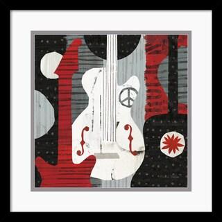 Michael Mullan 'Rock 'n Roll Guitars' Framed Art Print