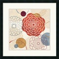 Veronique Charron 'Abstract Bouquet I' Framed Art Print
