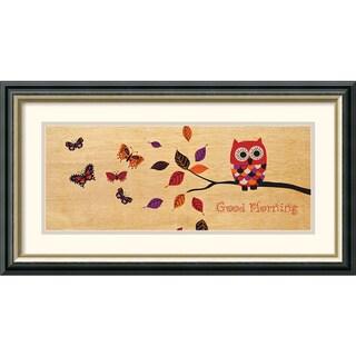 Wild Apple Portfolio 'Good Morning Owl' Framed Art Print