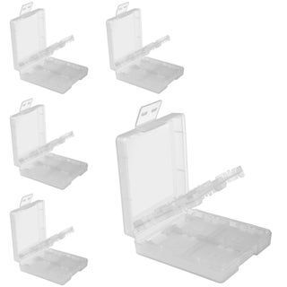 INSTEN White Game Card Case Cover for Nintendo DS/ NDSL/ DSI/ LL/ XL (Pack of 5)