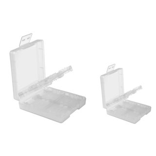 INSTEN White Game Card Case Cover for Nintendo DS/ NDSL/ DSI/ LL/ XL (Pack of 2)