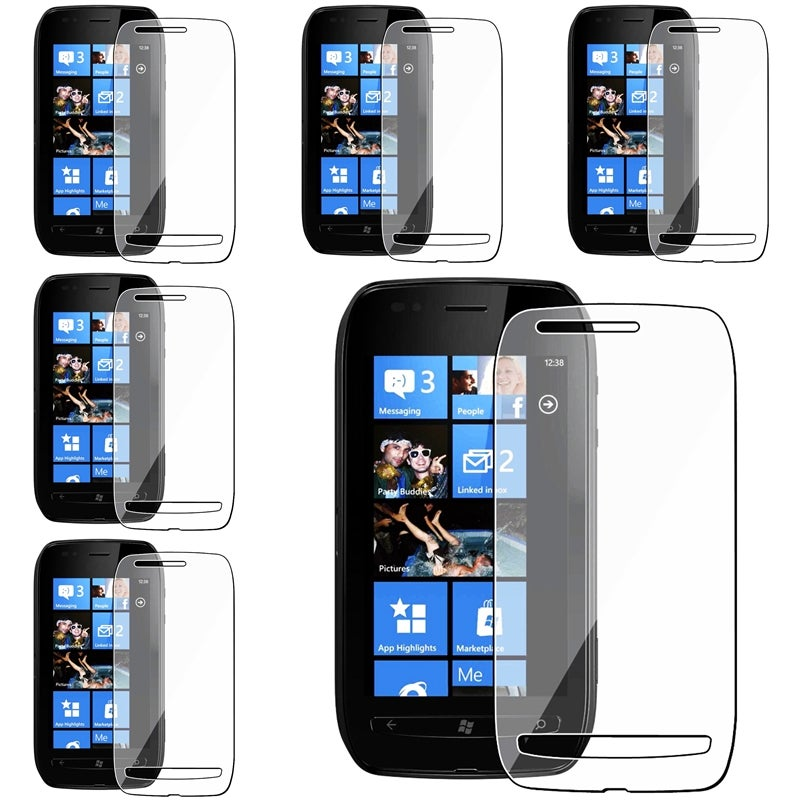 INSTEN Clear Screen Protector for Nokia Lumia 710 (Pack of 6)