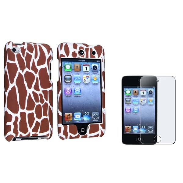 INSTEN iPod Case Cover/ Anti-glare LCD Protector for Apple iPod Touch Generation 4