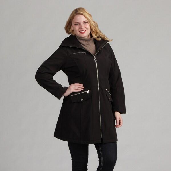 Miss Sixty Women's Plus Soft Shell Coat