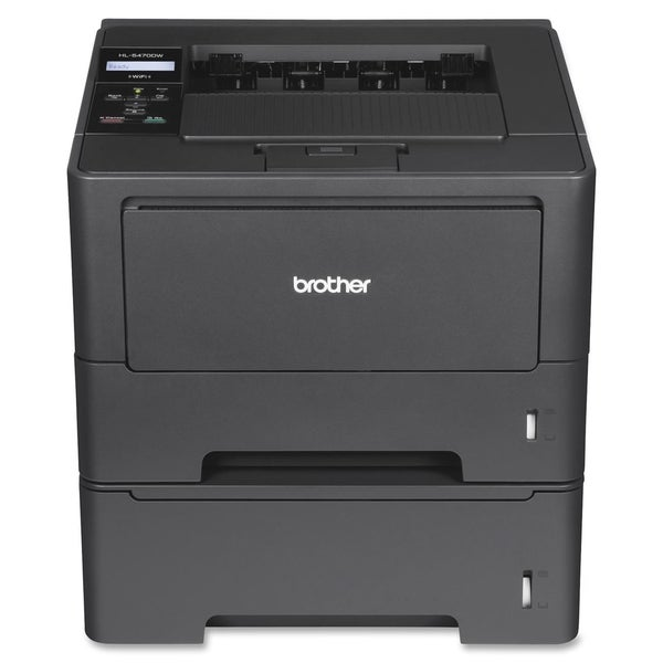Brother HL-5470DWT Laser Printer - Monochrome - 1200 x 1200 dpi Print